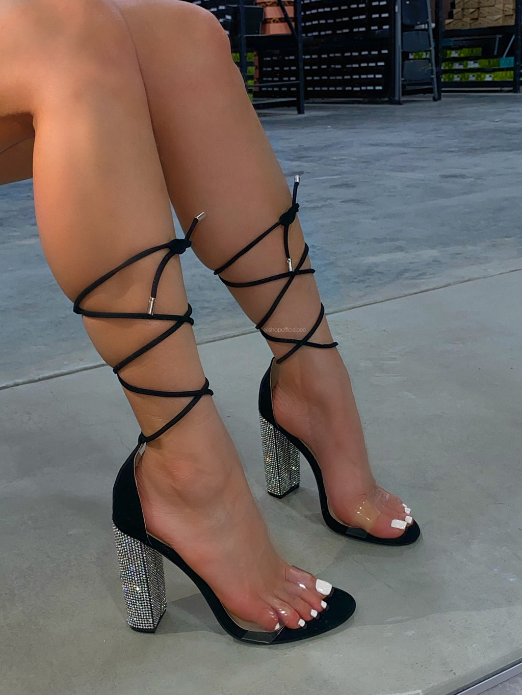 Alice Heel - Black