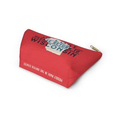 If Lost Return to Wisconsin Accessory Bag