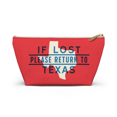If Lost Return to Texas Accessory Bag