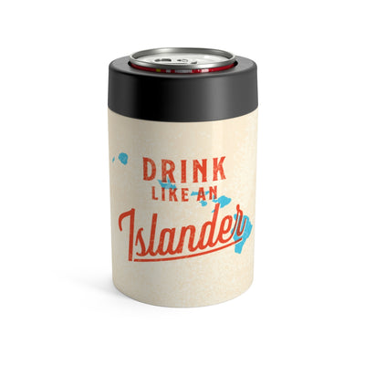 Drink Like An Islander Can Cooler
