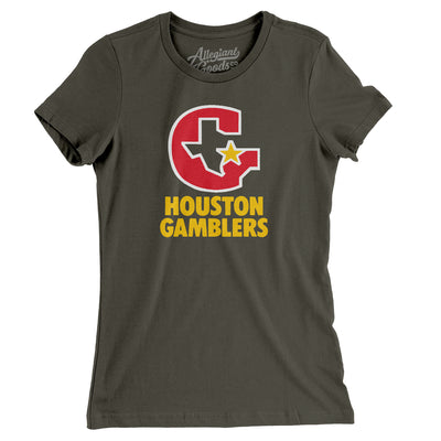 Houston Gamblers Football Women's T-Shirt