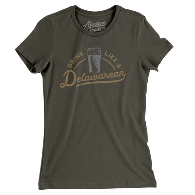 Drink Like a Delawarean Women's T-Shirt