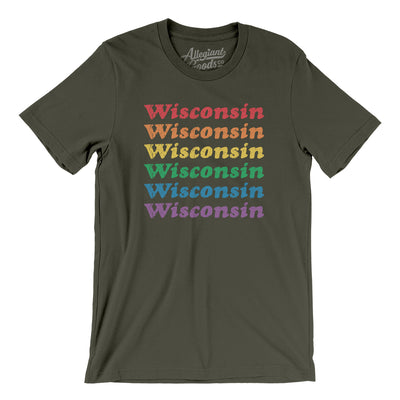 Wisconsin Pride Men/Unisex T-Shirt