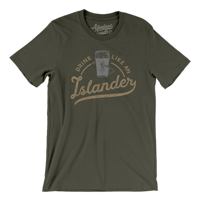 Drink Like an Islander Men/Unisex T-Shirt