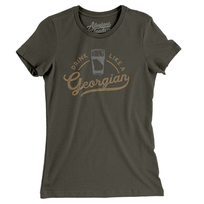 Drink Like a Georgian Women's T-Shirt