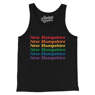 New Hampshire Pride Men/Unisex Tank Top