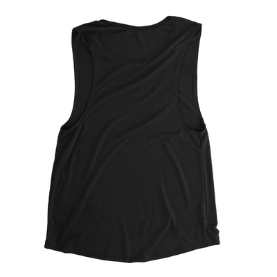 Baltimore 410 Area Code Women's Flowey Scoopneck Muscle Tank