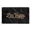 Las Vegas Nevada Wall Flag (Black & Gold)-Allegiant Goods Co.