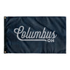 Columbus Ohio Wall Flag (Blue & Grey)-Allegiant Goods Co.