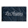 Los Angeles California Wall Flag (Blue & Grey)-Allegiant Goods Co.