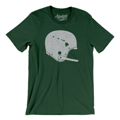 Hawaii Vintage Football Helmet Men/Unisex T-Shirt