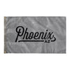 Phoenix Arizona Wall Flag (Grey & Black)-Allegiant Goods Co.