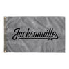 Jacksonville Florida Wall Flag (Grey & Black)-Allegiant Goods Co.