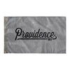 Providence Rhode Island Wall Flag (Grey & Black)-Allegiant Goods Co.