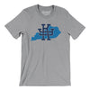 Kentucky Home State Map Men/Unisex T-Shirt-Allegiant Goods Co.