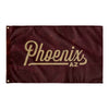 Phoenix Arizona Wall Flag (Maroon & Gold)-Allegiant Goods Co.