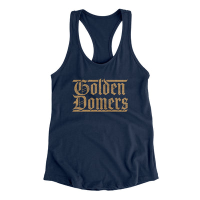 Golden Domers Women's Racerback Tank
