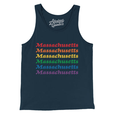 Massachusetts Pride Men/Unisex Tank Top