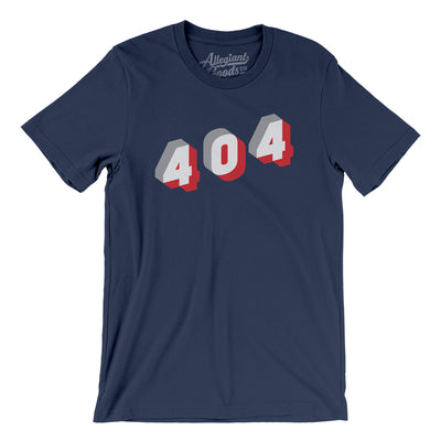 Atlanta 404 Area Code Men/Unisex T-Shirt