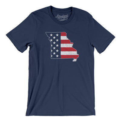 Missouri American Flag Men/Unisex T-Shirt