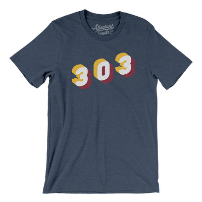 Denver 303 Area Code Men/Unisex T-Shirt