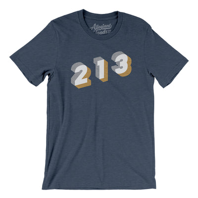 Los Angeles 213 Area Code Men/Unisex T-Shirt