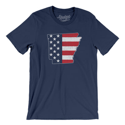 Arkansas American Flag Men/Unisex T-Shirt