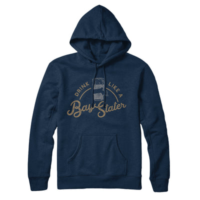 Drink Like a Bay Stater Fleece Hoodie