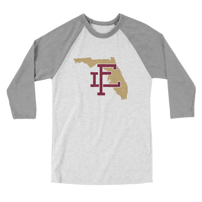 Florida Home State Men/Unisex Tri-Blend Baseball T-Shirt