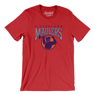 Pittsburgh Maulers Football Men/Unisex T-Shirt