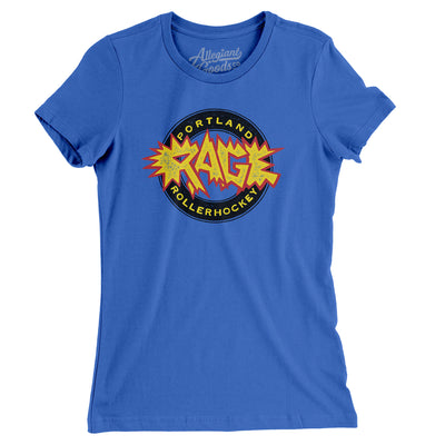Portland Rage Roller Hockey Women's T-Shirt