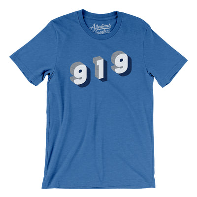Durham 919 Area Code Men/Unisex T-Shirt