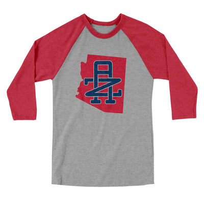 Arizona Home State Men/Unisex Tri-Blend Baseball T-Shirt