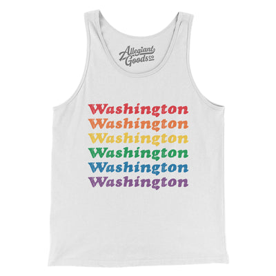 Washington Pride Men/Unisex Tank Top
