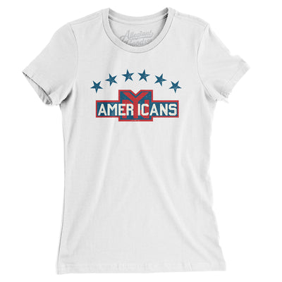 New York Americans Hockey Women's T-Shirt