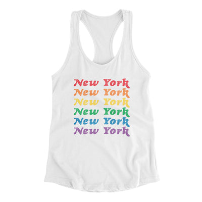 New York Pride Women's Racerback Tank