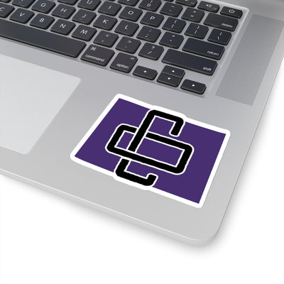 Colorado Home State Sticker (Yellow & Purple)