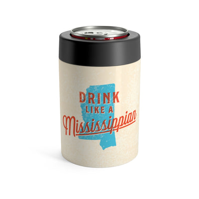 Drink Like A Mississippian Can Cooler