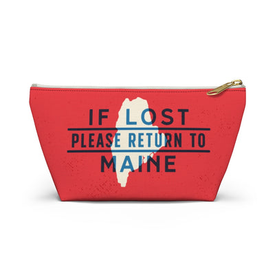 If Lost Return to Maine Accessory Bag