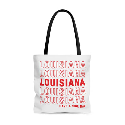 Louisiana Retro Thank You Tote Bag
