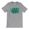 Washington Home State Map Men/Unisex T-Shirt-Allegiant Goods Co.