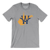 West Virginia Home State Map Men/Unisex T-Shirt-Allegiant Goods Co.