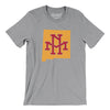 New Mexico Home State Map Men/Unisex T-Shirt-Allegiant Goods Co.