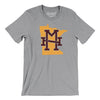 Minnesota Home State Map Men/Unisex T-Shirt-Allegiant Goods Co.