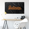 Baltimore Maryland Wall Flag-Allegiant Goods Co.