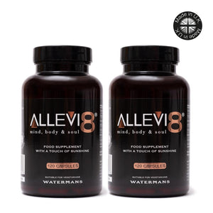 Allevi8 2 bottles = 4 months supply + Free Shipping
