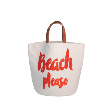 Bolsa Please Beach Dark Orange