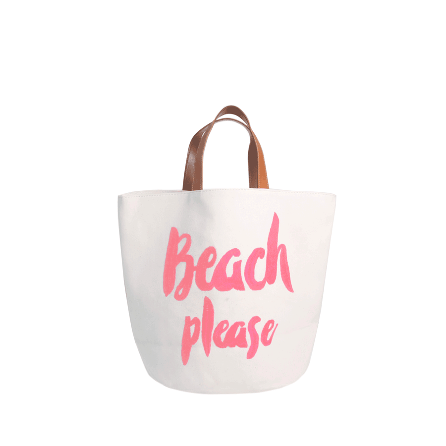 Bolsa Please Beach Pastel Pink