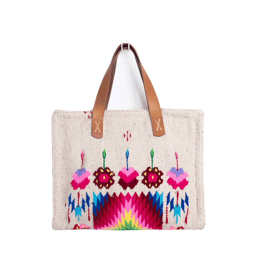 Carmen Sarape Bag Khaki & Colors