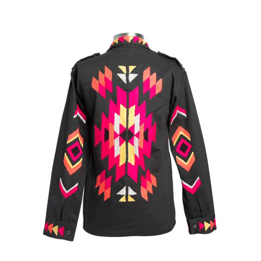 Military Jacket Neon Navajo
